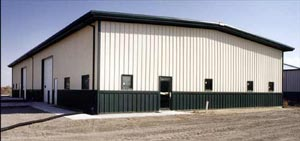 The Steel Building Store offers metal structures used in agriculture as barns.