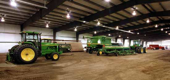 Agricultural Straight Wall Steel Buildings