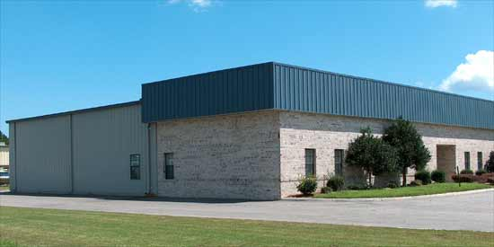 Commercial Steel Garages 20 Walls : Commercial industrial straight wall steel buildings